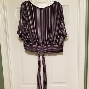 NWOT NY&CO SOHO Soft Striped blouse